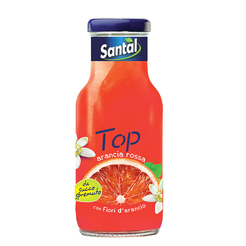 Santal Top Arancia Rossa 25cl x24