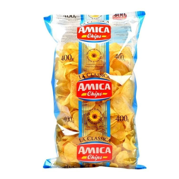 Patatine Amica Chips Classica 400gr x6 Buste